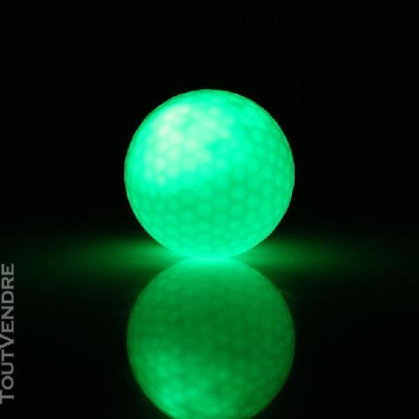 1 pc balle de golf Électronique led d'Éclairage nuit noi