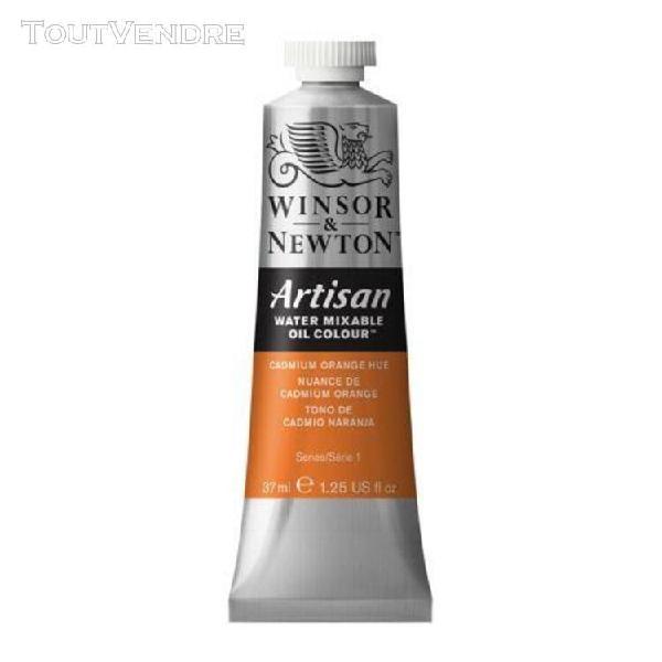 huile hydrosoluble artisan - 37 ml - nuance de cadmium orang