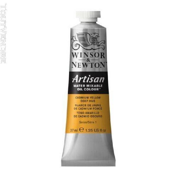 huile hydrosoluble artisan - 37 ml - nuance de jaune de cadm