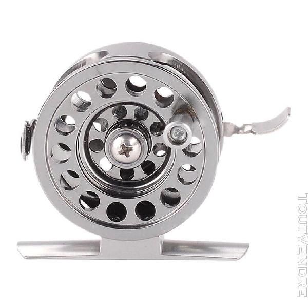 moulinet de pêche sur glace, roue de radeau d'eau de mer,