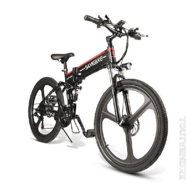 samebike lo26 vélo cyclomoteur électrique pliant i
