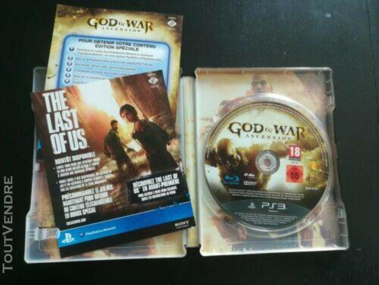 God of war ascension edition steelbook ps3