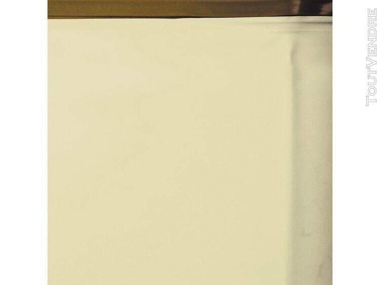 liner beige pour piscine en bois 872 x 472 x 146 cm gre 7862