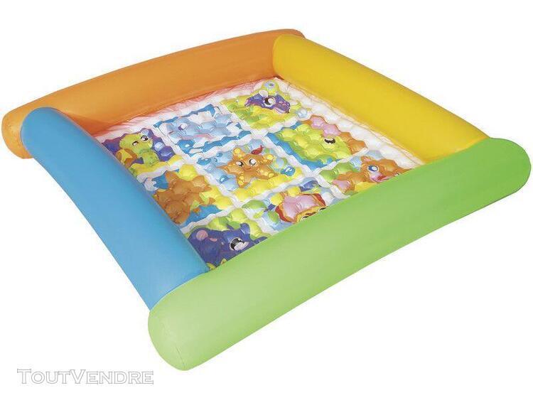 parc enfant gonflable 132 x 132 x 23 cm bestway 52240