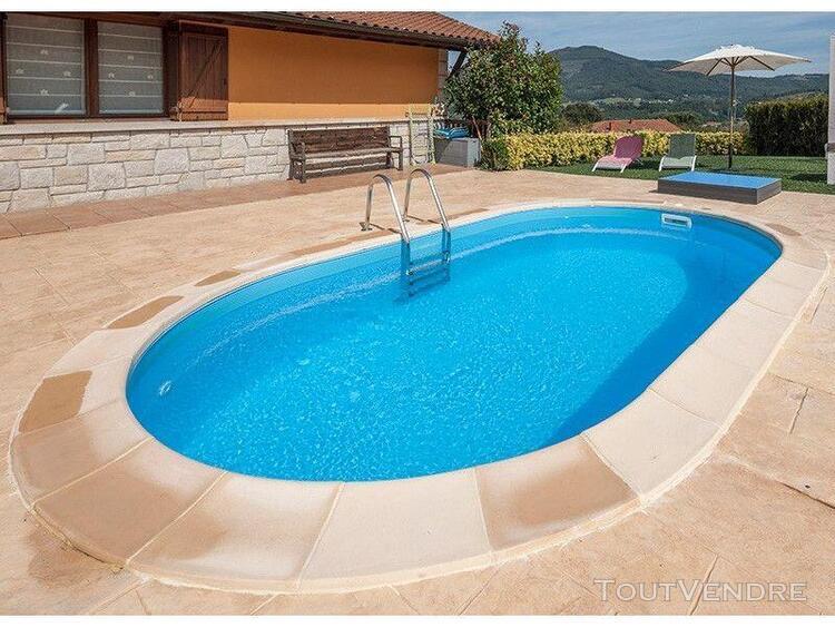 piscine enterrée madagascar 600 x 320 x 150 cm gre