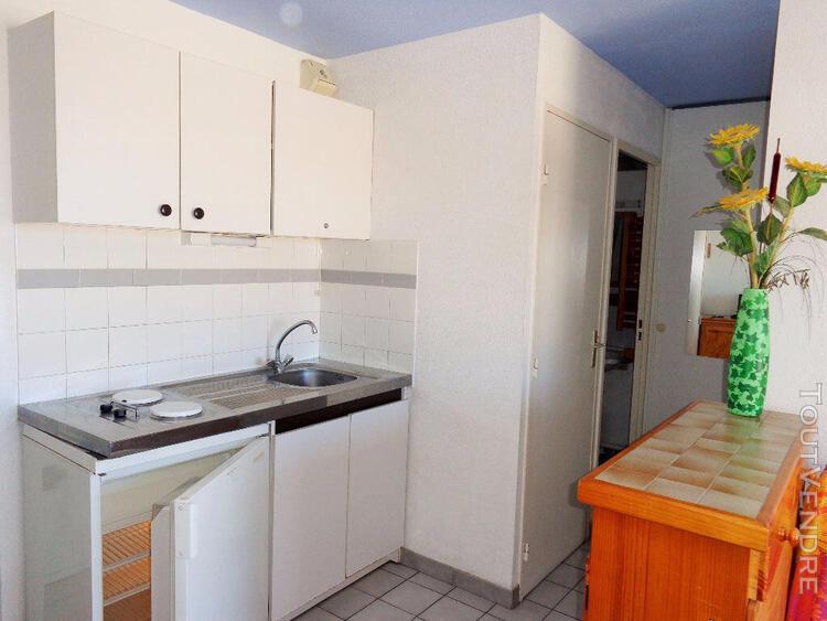 appartement meublé sète 2 pièce(s)