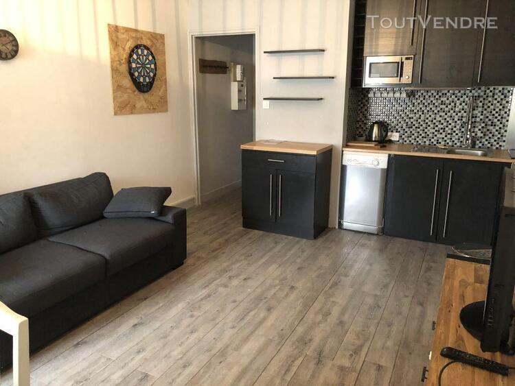 Appartement meuble t1 - hyper centre
