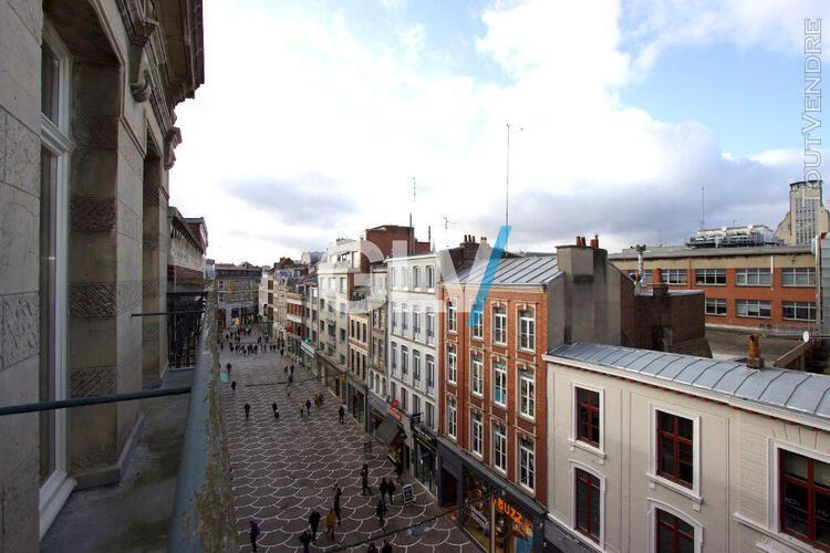 appartement t3 bis 93 m2 lille centre - terrasses et parking