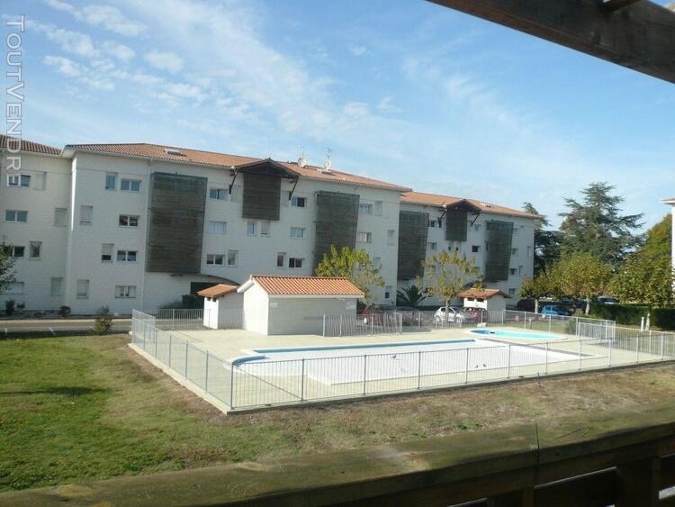 biscarrosse - appartement t3 dans résidence avec piscine