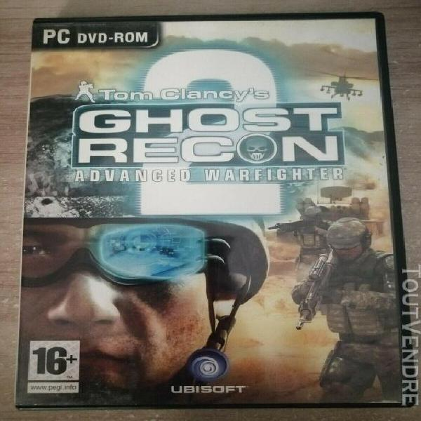 Jeux pc tom clanc'ys ghost recon advanced warfighter 2