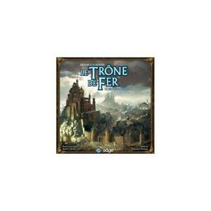 Le trone de fer - seconde édition, fantasy flight games