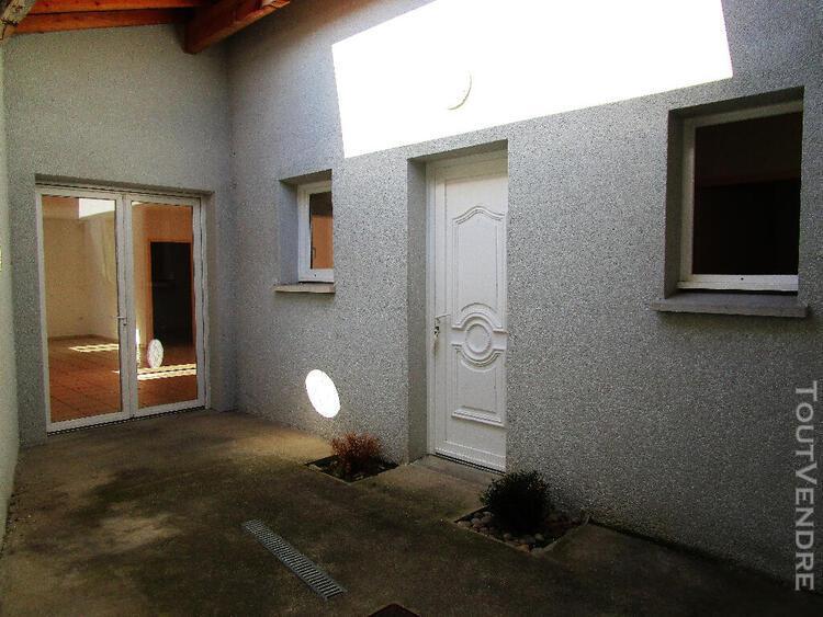 savigneux - maison de ville t3 - 72.84 m² habitables
