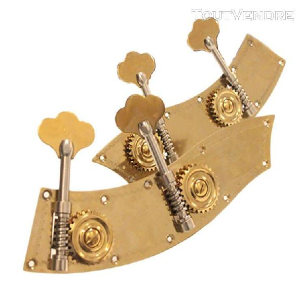 2pcs cheville méacique piece de remplacement violon