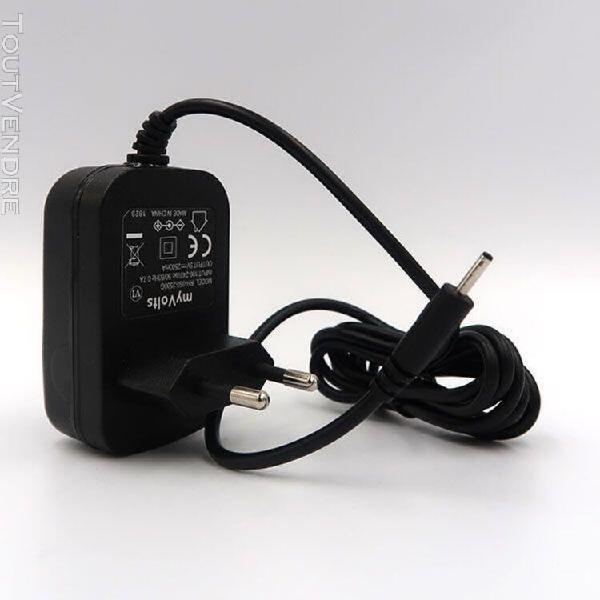 Caline cp-15: chargeur / alimentation 9v compatible (adapta