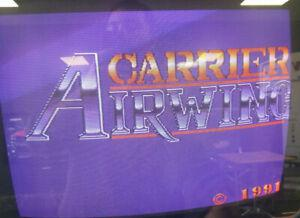 Carrier air wing arcade jamma fonctionnel working pcb