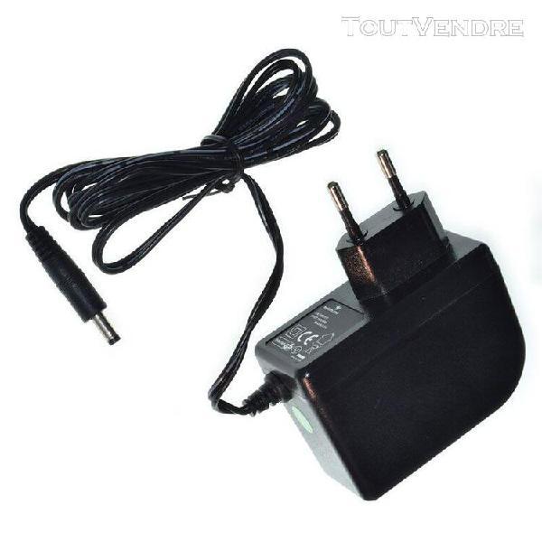 Casio lk-190: chargeur / alimentation 9v compatible (adapta