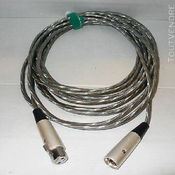 câble pour micro xlr / xlr studio project