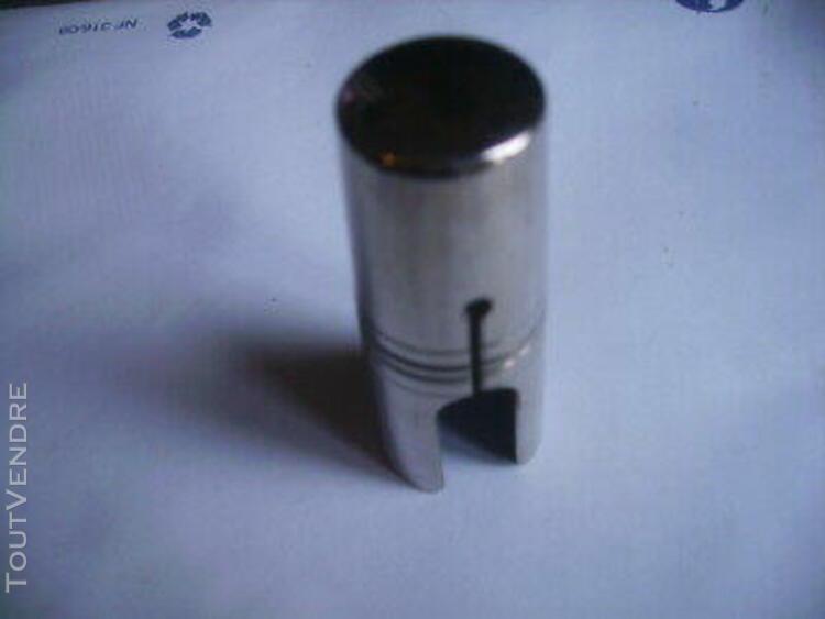 couvre bec chromé pour bec saxophonealto metal ou clarinett