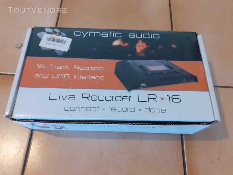 cymatic audio live recorder lr-16 servi une fois