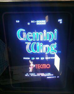Gemini wing tecmo arcade jamma fonctionnel working pcb