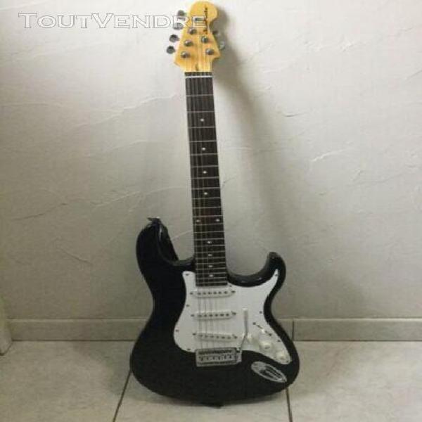 guitare electrique jammate style stratocaster sortie usb et