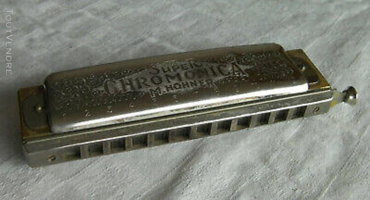 hohner super chromonica key c 18 trous chromatique n°270
