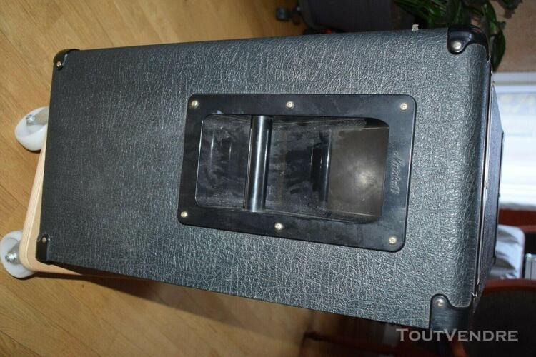 marshall mr1936 lead 2x12 guitar cabinet baffle +housse de p