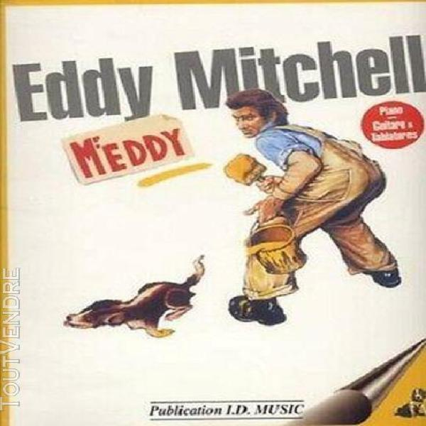 partition: mitchell mr eddy - piano, voix, guitare tablatur