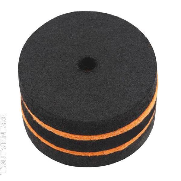 rondelles pour cymbale noir