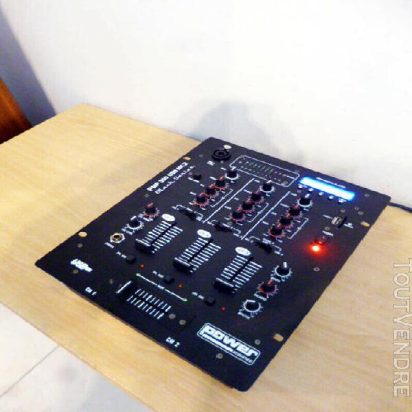 Table de mixage power acoustics pmp 300 usb mk2