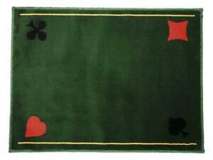 Tapis de jeux de cartes casino neuf - playing card mat,