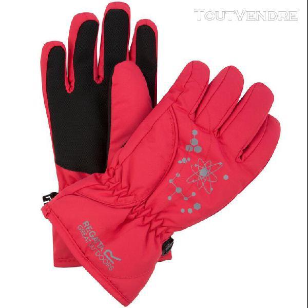 Regatta - gants imperméable arlie ii - enfant (rose) -