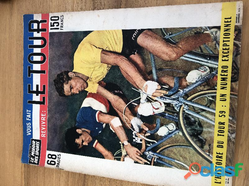lot miroir du cyclisme anciens rare 1