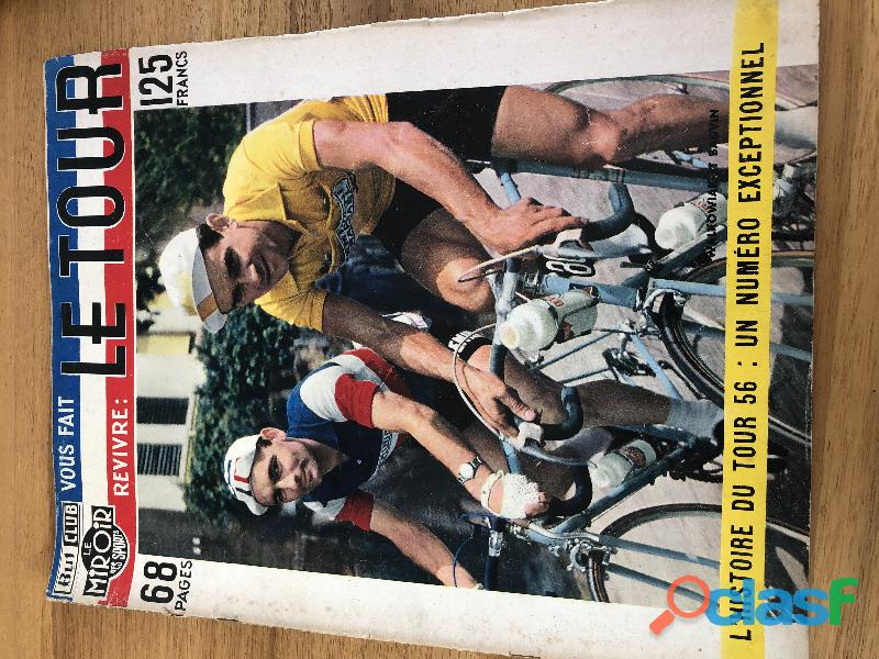 lot miroir du cyclisme anciens rare 2