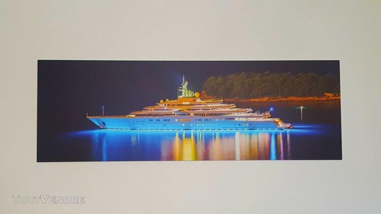 Tableau design grande taille yacht