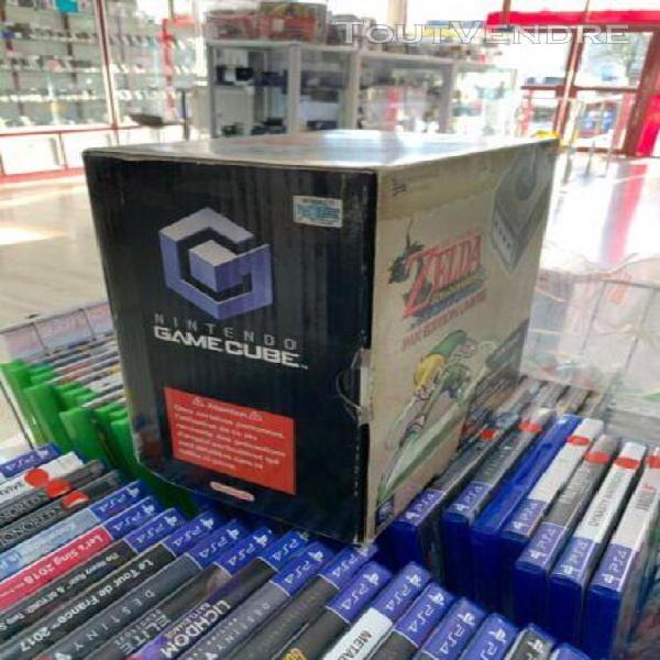 Console nintendo gamecube grise zelda - pack zelda wind wake