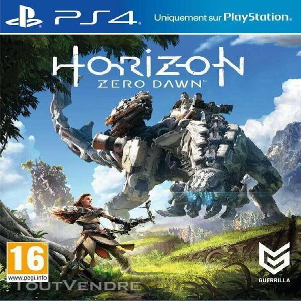 Horizon zero dawn - jeu ps4