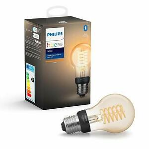 Philips hue ampoule led connectée white filament e27 forme