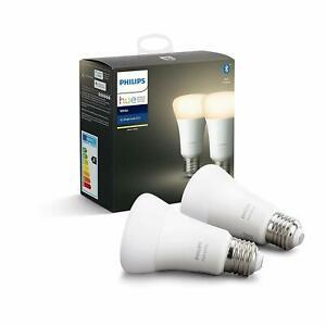 Philips hue ampoules led connectées white e27 compatible