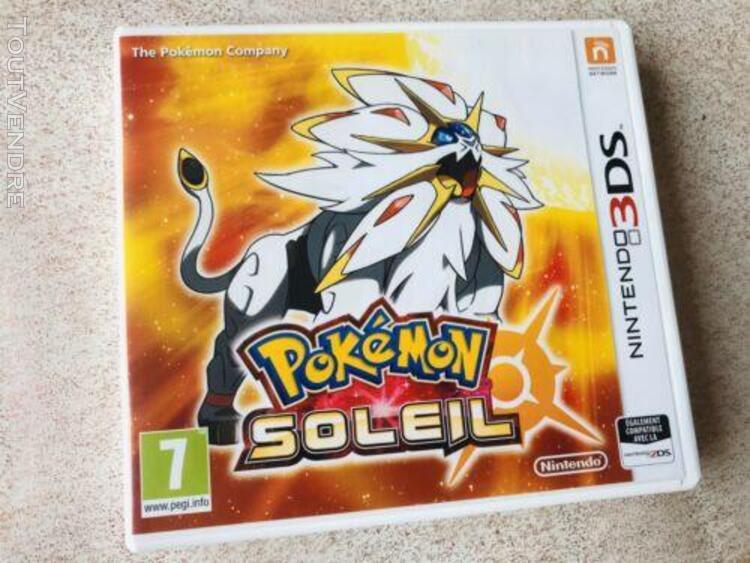 Pokemon soleil - complet fr - 3ds