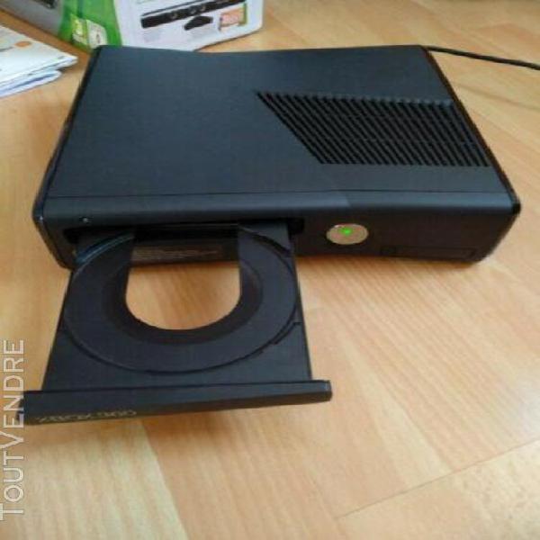 Xbox 360 slim 250 go noire