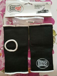 Boxe, sous-gants de protection, noir