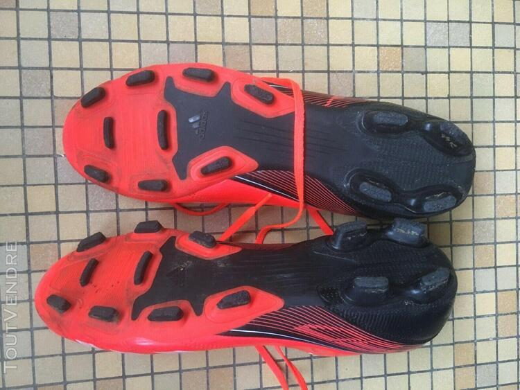 Chaussures foot crampons homme adidas f50 f 50 orange pointu