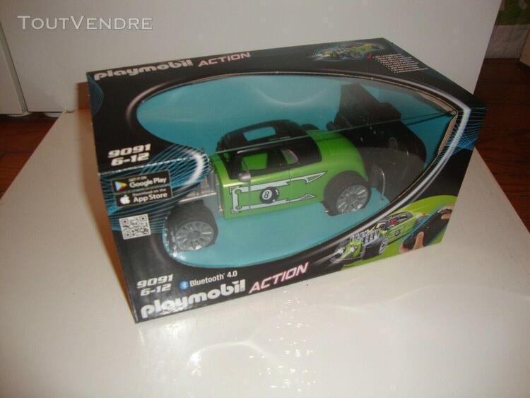 Neuf boite playmobil ref. 9091 rc rock'n roll racer action v