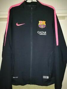 Nike fc barcelona tracksuit mens size m