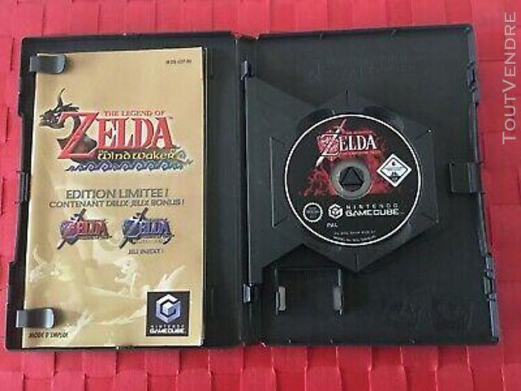 Zelda the wind waker edition limitée !! nintendo gamecube
