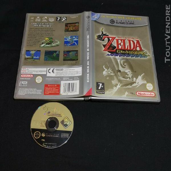 Zelda wind waker gamecube - fra - (vendeur pro) dol-gzlp-fra