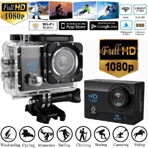 Full hd 1080p caméra de sport étanche magnétoscope