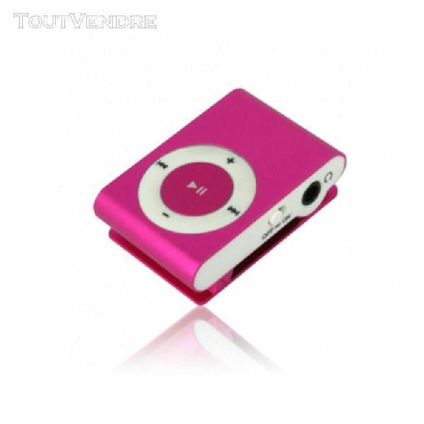 Lecteur mp3 mini lecteur musique audio mp3 clip usb fente po