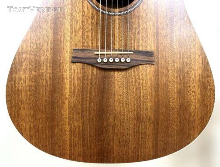 Magnifique guitare acoustique folk electro seagull s6 mahoga